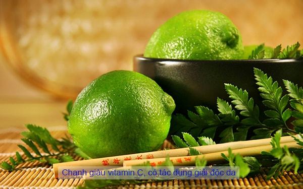 Những thực phẩm thường ngày giúp giải độc và bảo vệ da hiệu quả