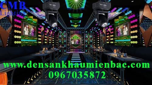 Lắp đặt ánh sáng sân khấu phòng hát karaoke 4
