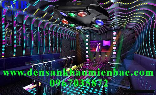 Lắp đặt ánh sáng sân khấu phòng hát karaoke 1