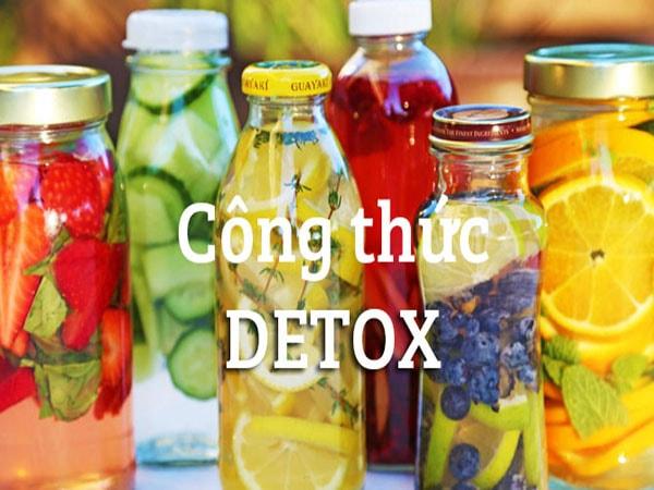 Tổng hợp các công thức detox bằng chanh