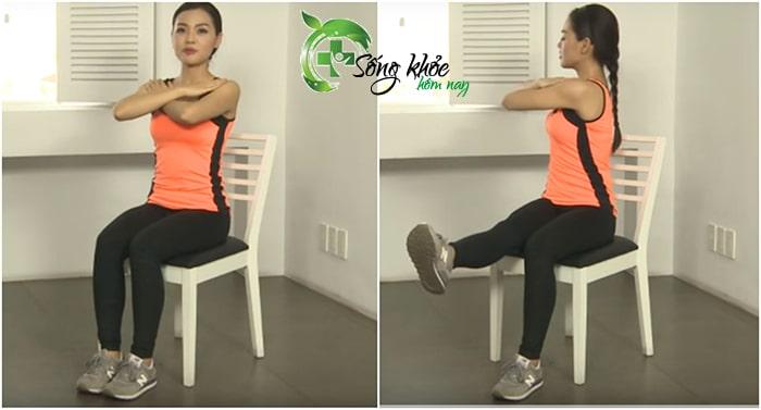 Bài tập giảm mỡ bụng xoay toàn thân