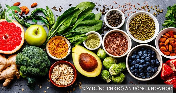 Chế độ ăn uống khoa học giúp giảm mỡ bụng hiệu quả