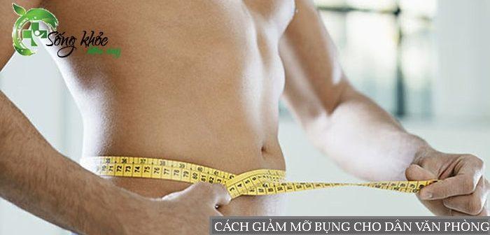 7 cách đơn giản giúp giảm mỡ bụng cho dân văn phòng
