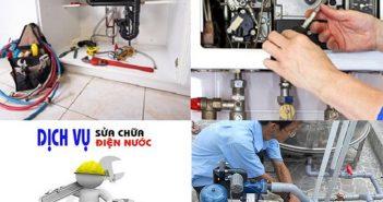 Dịch vụ sửa chữa điện nước tại quận Hoàng Mai