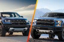 Điểm khác biệt Ford Ranger Raptor với Ford Ranger thông thường