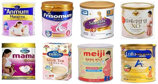 Sữa bột dành cho bà bầu