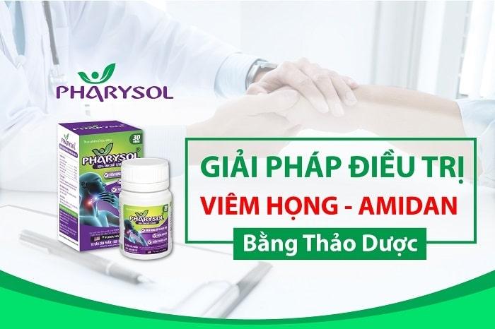 Thực phẩm chức năng điều trị ho Pharysol