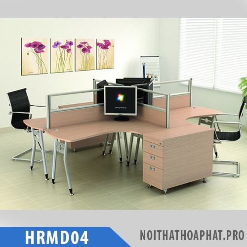 Cụm bàn làm việc HRMD04