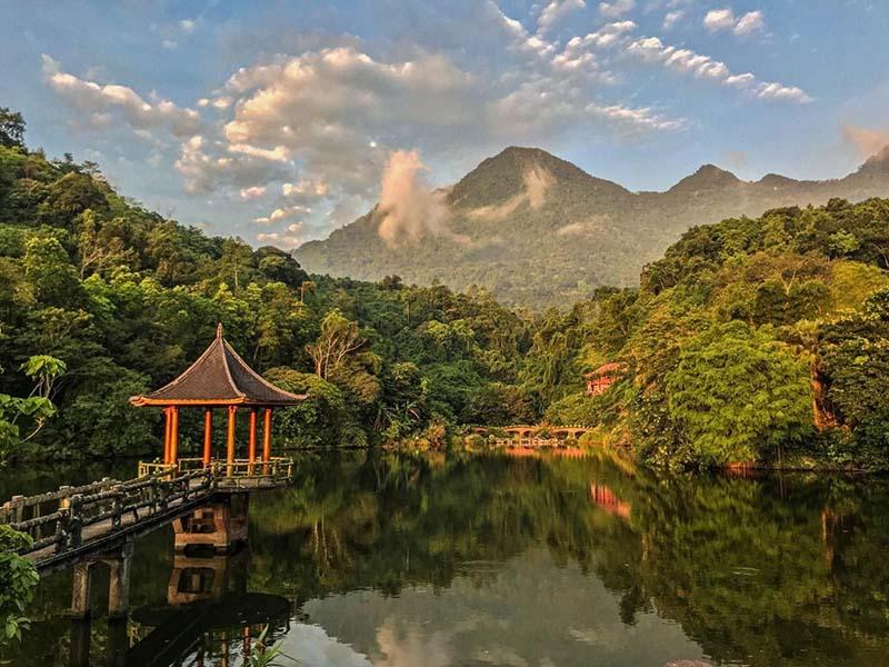 Cảnh đẹp mê hồn tại MEDI Thiên Sơn